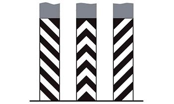 Вертикальная разметка на парковках