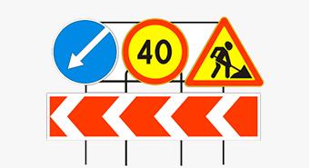 Установка дорожных знаков  в Калуге